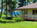 Hale Hou Hoaloha is a 3 bedroom home with ADA features just one block from the ocean