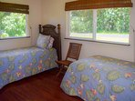 Third bedroom has two twin beds