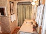 Privtae bath off Queen bedroom.