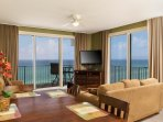 Spectacular views of sunsets and entire shoreline!