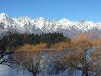 beautiful winter views from Lake Esplanade Villa