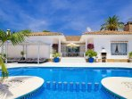 Palm Villa ideal for families with infants  - sleeps 14 persons