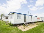 8 berth caravan for hire at Heacham Beach Holiday park. Emerald rated.