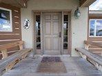 Entryway into main lodge.
