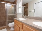 Full Bathroom Located off of King Master Bedroom One