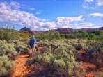 Beautiful Snow Canyon With Miles Of Hiking  Biking Just 10 Min Drive