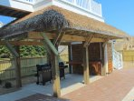 Back Yard Tiki Bar with Outdoor Showers