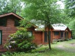 This beautiful cedar cabin is right on the river and not only offers proximity to fly fishing but also is located in...