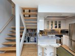 fantastic kitchen, absolutely great for cooking and entertaining