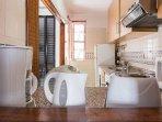 Cozinha eletrodomésticos.