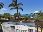 Beautiful ocean views to enjoy right from your lanai!