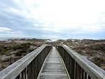 Wrightsville Dunes Boardwalk to the beach