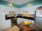 Upscale kitchen. Everything you need to cook and entertain