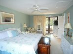 Master bedroom. Quality sheets and linens are provided