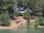 Photo of house from lake/marina