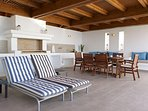 Villa Verna - Outside seating and dining area with BBQ