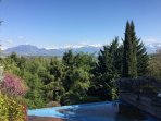 Monnetier-Mornex Villa with exceptional view to Mont Blanc , heated pool