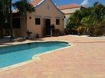 Private pool retreat