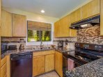 Newly renovated full kitchen