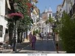Old Town of Marbella 3 miles from our home