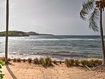 You'll get to enjoy a access to a private beach throughout your stay.