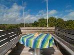 Lookout Deck.  Sunbathe, watch a sunset, or star gaze.