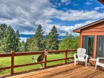 Your Montana adventure begins when you book this 3-bedroom, 3-bathroom vacation rental home in Bigfork.
