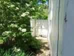 Partially Enclosed Outdoor Shower