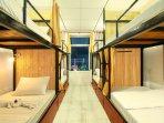 Mixed gender dormitory room