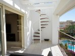 STAIR TO ROOF TERRACE