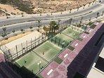Zonas comunes (pistas deportivas)