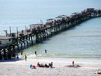 ake a stroll on the fishing pier, or bring your rod and catch your dinner