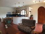 Open plan  lounge/dining/kitchen area in apt of approx. 64m/sq