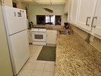 Kitchen with Beautiful Granite