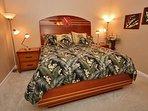 Master Bedroom with custom designed furnishings