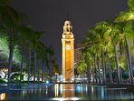 The clock tower - just 13 minutes away from my apartment!
