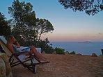 Dream away...on our yoga beach sand terrace