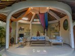 dome shape living room
