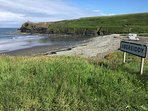 Abereiddy Bay - 5min drive,  20min walk from cottage