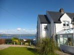 The Spectacular Sea Views from the House, Garden and Patio Area Only a Short Walk to Sandy Beach