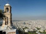The church on the highest point of Lycabettus hill...