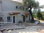 East view of 'Villa Erasmia'