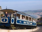 The Great Orme funicular tramway