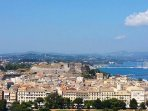 UNESCO Heritage Listed Old Corfu Town from the Old Fort
