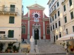 Old Corfu Town attractions incl the 14th Century Byzantine Churches