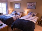Twin beds or double bed available with ensuite bathroom