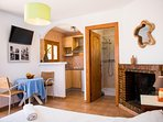 cozy and stylish bedroom