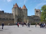 La Cite at Carcassonne is well worth a visit.