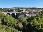 the village of Minerve is a great place to visit and have a long long lunch in the sun.