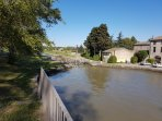 The Canal du Midi is just 15 minutes down the road.